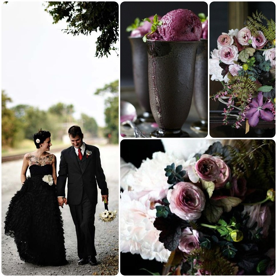 Gothic-wedding-collage