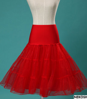 Подъюбник Pin up red
