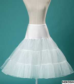 Подъюбник  Pin up white