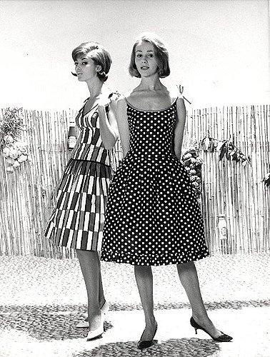 платья в стиле 60 х годов фото