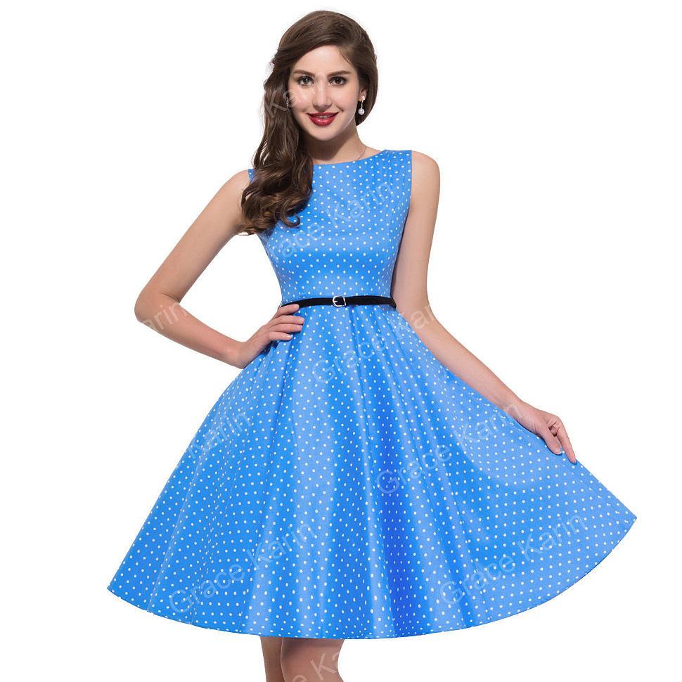 платья в стиле 50 х фото