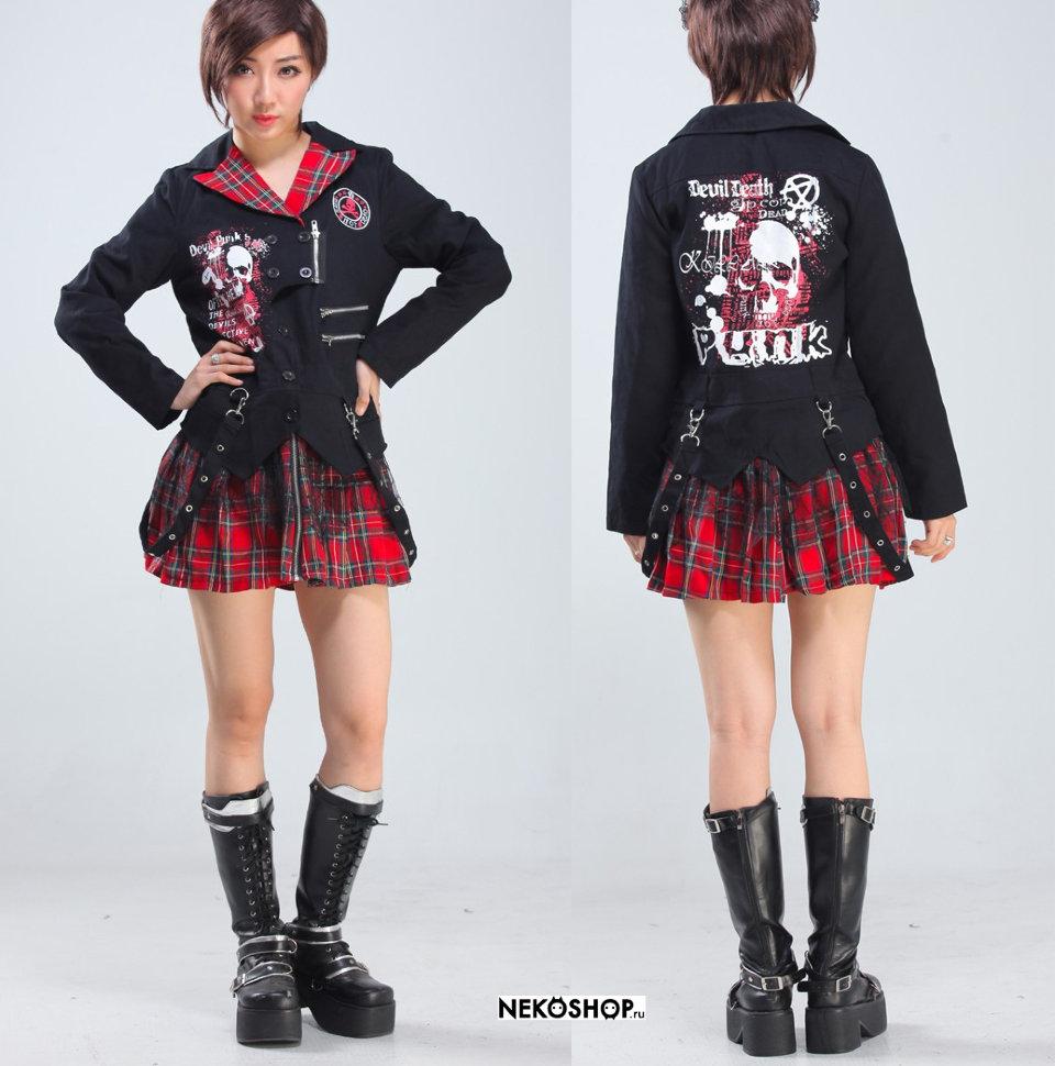 Платья в стиле панк-рок