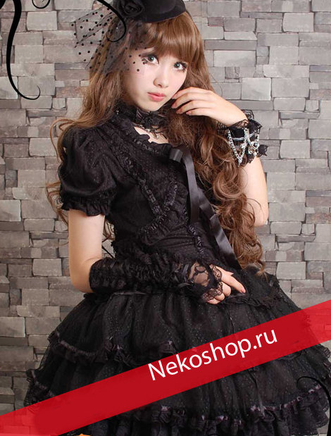 Платье в стиле Gothic Lolita Sister of darkness  black