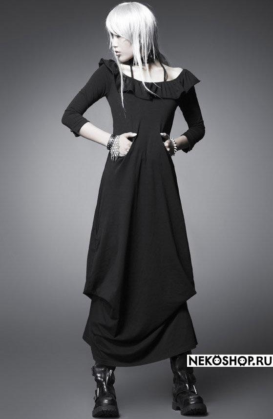 Платье готическое в пол